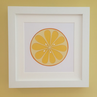Orange Kitchen Wall Art