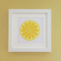 Lemon Kitchen Wall Art
