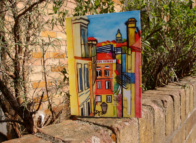 Rua da Hera greetings card