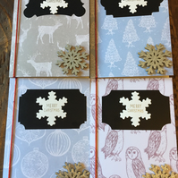 Pack of 4 Traditional Christmas Cards