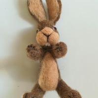 NATASHA Rabbit, Needle felting kit crafts Crafting, handmade wool