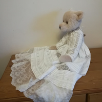 Alice, Steiff alpaca handmade OOAK collectable