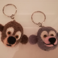 Bag charm, key ring, cord pull,
