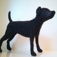 Labrador Retriever, black, pet sculpture
