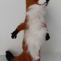 Felicity Fox,needle felted wool collectable