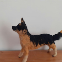German Shepherd dog pet,ooak,collectable