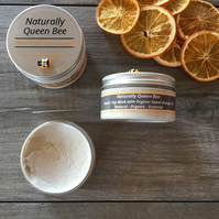Sweet Orange Face Mask. Kaolin Clay Mask.100ml Natural Organic