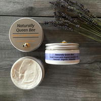 Lavender Hand Cream. Natural, Organic, Essential. 100ml Hand Balm Hand Lotion