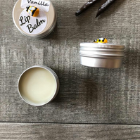 Vanilla Lip Balm. Natural Beeswax. 15ml