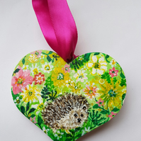 Hedgehog flower explosion
