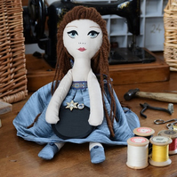 Handmade Heirloom Advent Doll - Iona