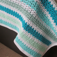 Crochet Sea Breeze Blanket