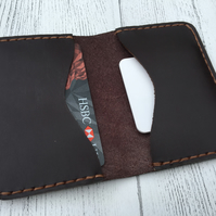 'Charles' leather wallet