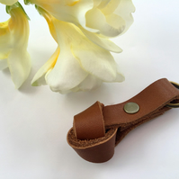 'Tied the Knot' leather wedding favour