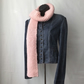 Super Soft Pink Chunky Knit Scarf