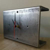 Upcycled C Channel Clock
