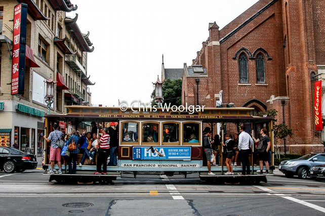 San Francisco Cable Car 6 x 4 or A4 Fine Art Photographic Print