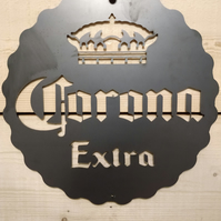 Premium Corona Extra Sign Wall Art Beer Man Cave Hand Finished pub bar