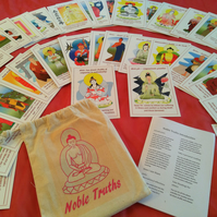 Buddhist oracle and reflective cards