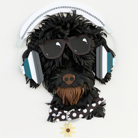 The CoolDudel - Labradoodle Portrait