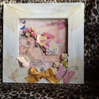 Vintage Love Letters Collage