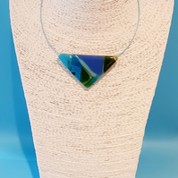 Fused Glass Necklace