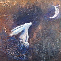 The Hare & the Crescent Moon IV