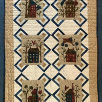 Happy Hollow Houses quilt