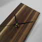 Walnut and Holly clock