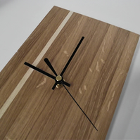 Oak and Holly wall clock