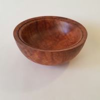 Ripple grain Brown Oak bowl