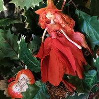 Coral Summer Flower Faery