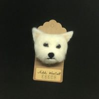 Westie Head Fridge Magnet