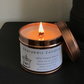 Wild Flower Bloom fragranced wood-wick candle