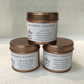 3 fragranced wood wick candles