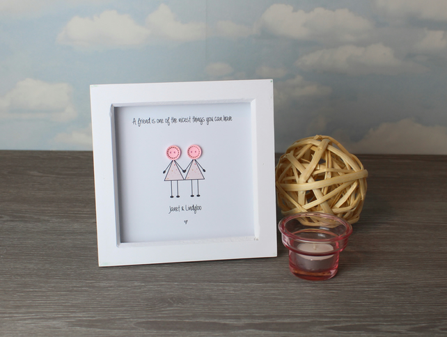 Mini Buttonhead - Personalised framed pictures