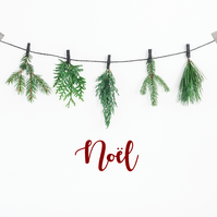 Noel Decor  Christmas Decor  Joyeux Noel  Christmas