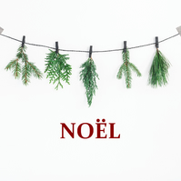 Noel Christmas Decor  Noel Sign  Christmas Decal