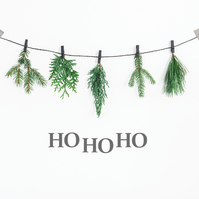 Ho Ho Ho Christmas Decor   HoHoHo Sign  Christmas Decorations  Christmas