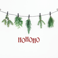 Ho Ho Ho Decor  Ho Ho Ho Christmas Decor  Xmas Decor