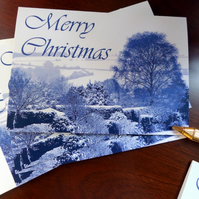Frosty Landscape - Pack of five Christmas cards