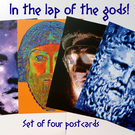 In The Lap of The Gods - Set of Four Postcards