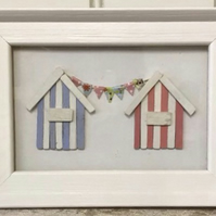 Two Beach Huts