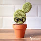 FLAT STANLEY: Cactus, Cacti, Desk Decor, Kitsch, Cacti, Crocheted Cactus