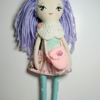 Purple haired doll, Violet