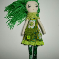 Green haired doll Fern