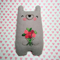 Red Rose Valentine Bear