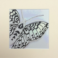Pearl Bordered Fritillary Print on Archival Paper in a Cream Mount