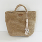 Natural Jute Crochet Tote Bag