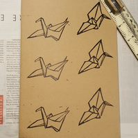 Paper Cranes Sketchbook or Notebook